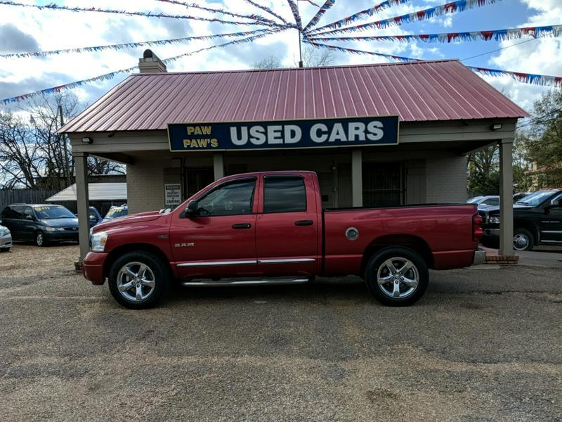 2008 Dodge Ram 1500 Laramie Quad Cab Short Bed 2WD