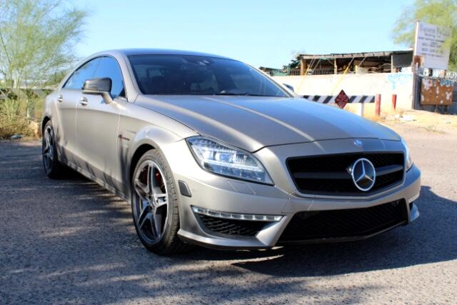 used 2012 mercedes benz cls class cls63 amg launch edition rare vehicle for sale in phoniex az. Black Bedroom Furniture Sets. Home Design Ideas
