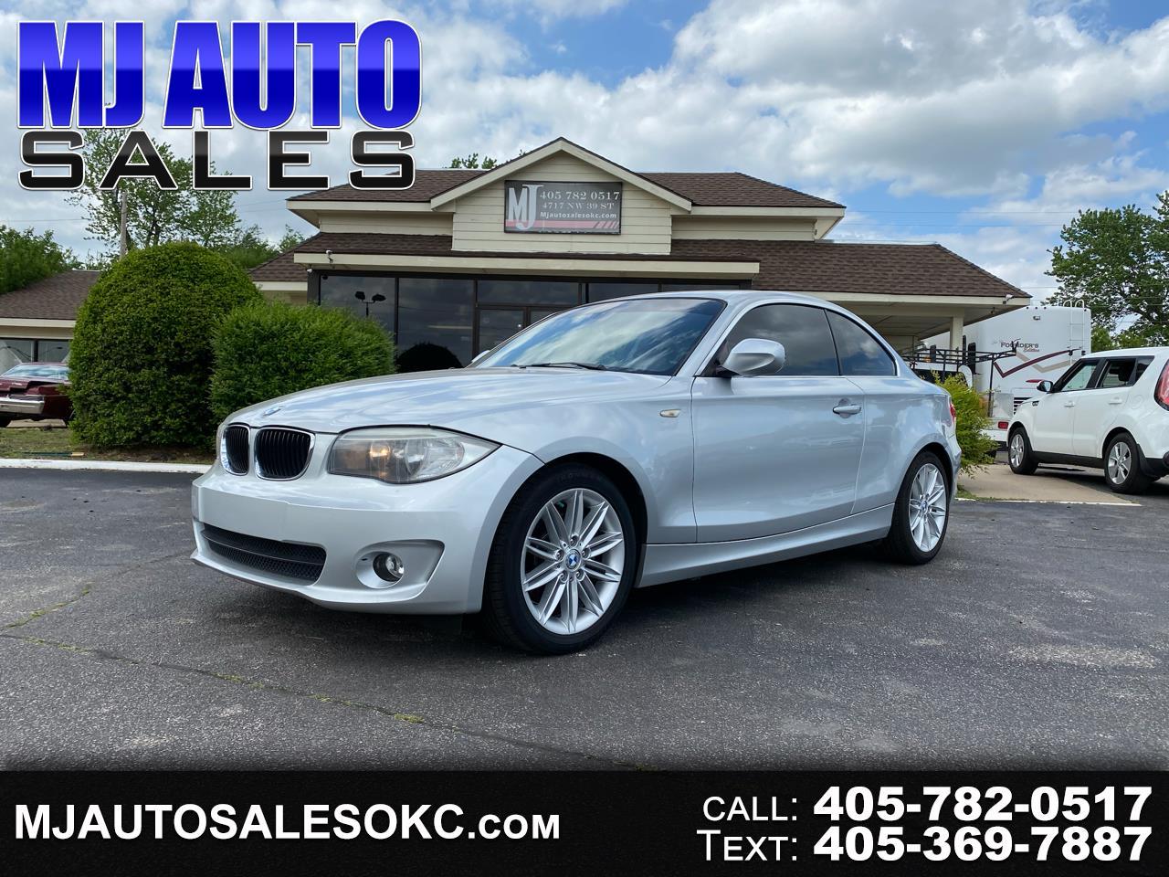 BMW 1 Series 2dr Cpe 128i 2012