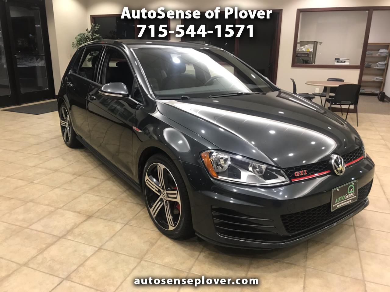 Volkswagen Golf GTI 2.0T 4-Door Autobahn Manual 2017
