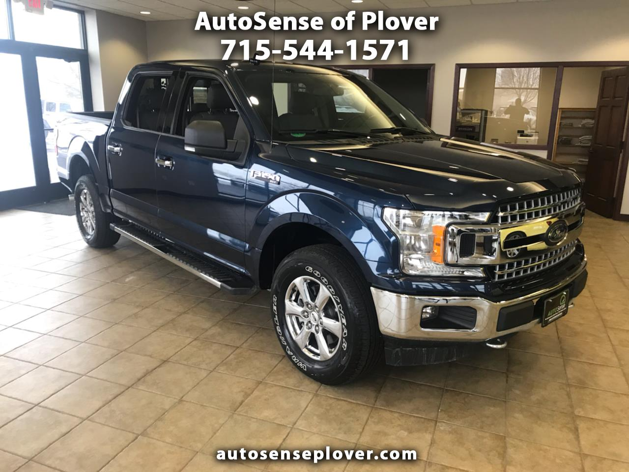 Ford F-150 XLT 4WD SuperCrew 5.5' Box 2018