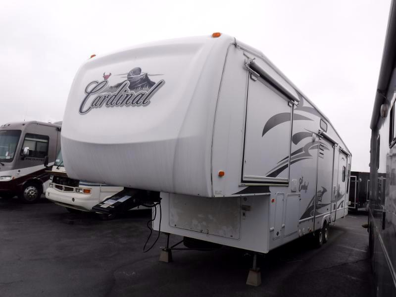 2007 Forest River Cardinal 34QS quad slides