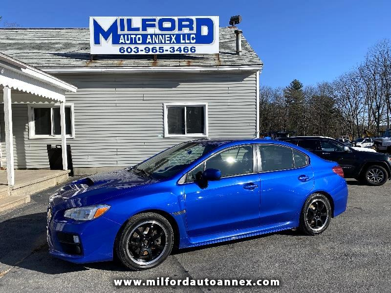 Subaru WRX 4-Door 2015