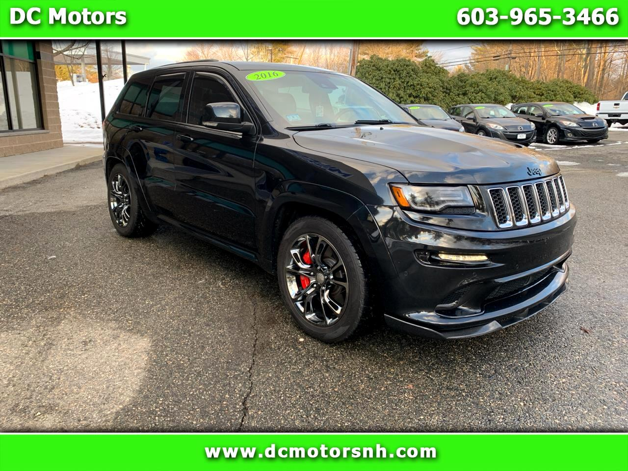 Jeep Grand Cherokee 4WD 4dr SRT 2016