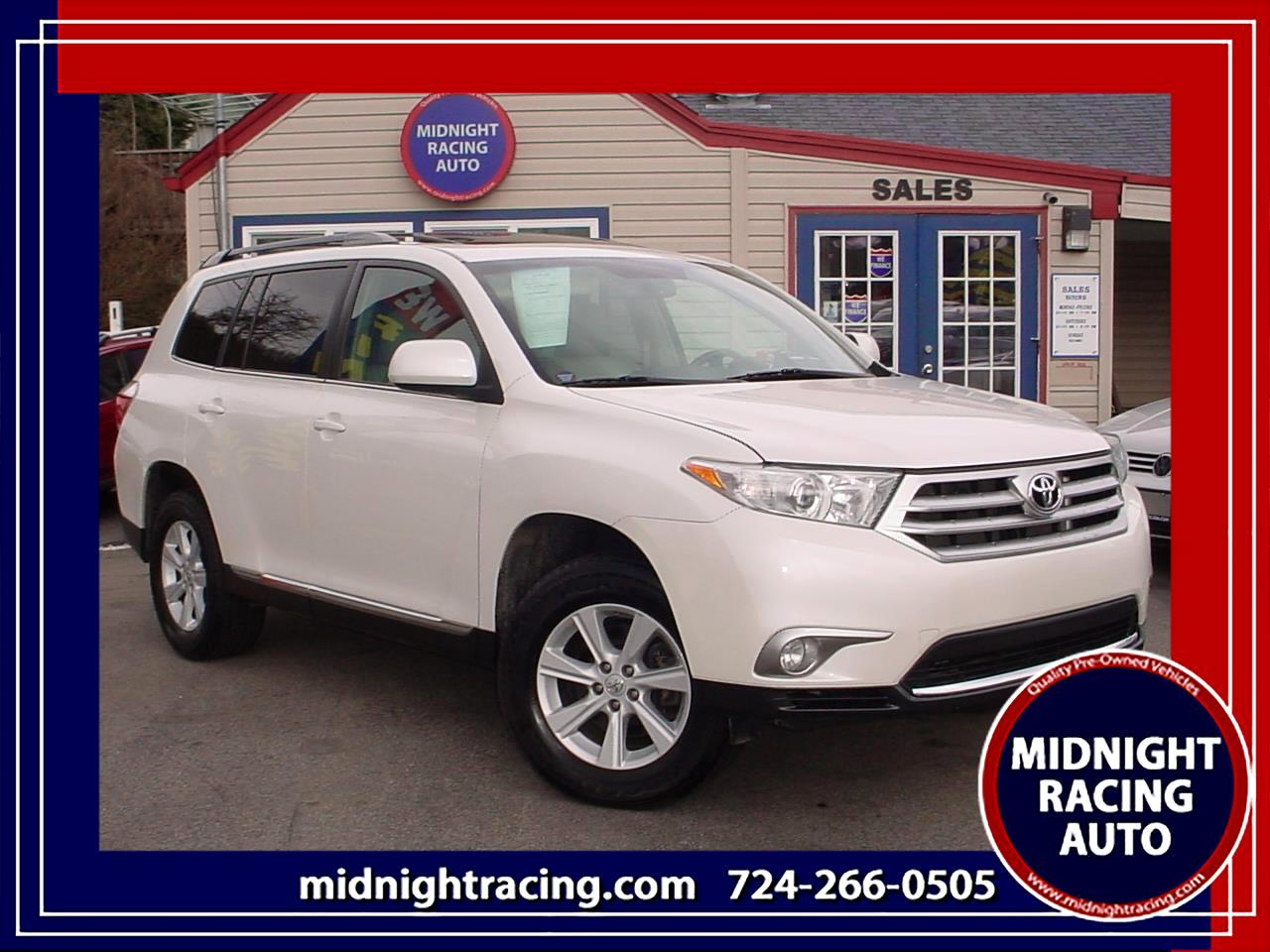 2013 Toyota Highlander Limited V6 4WD