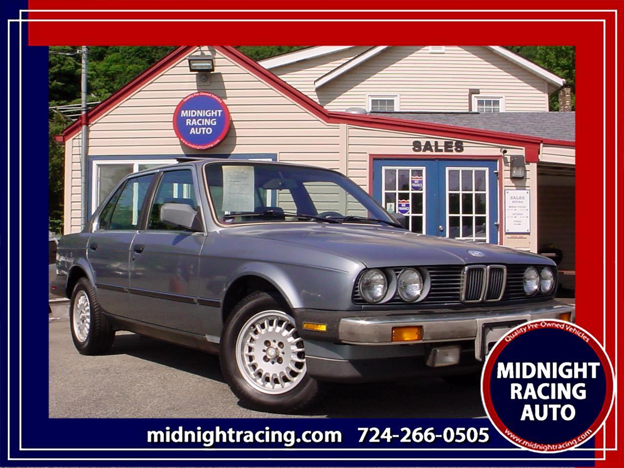 1987 BMW 325 Sedan