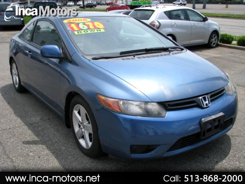 2008 Honda Civic EX-L Coupe AT
