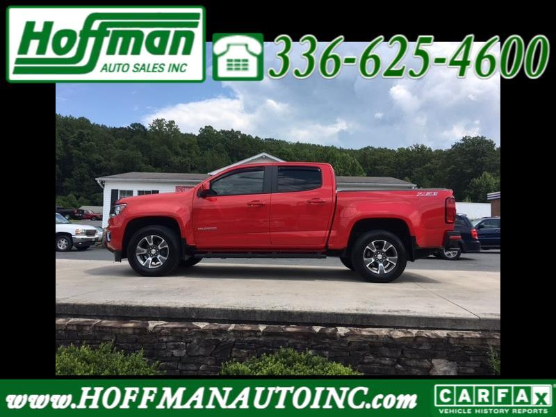 Chevrolet Colorado Z71 Crew Cab 2WD Short Box 2016