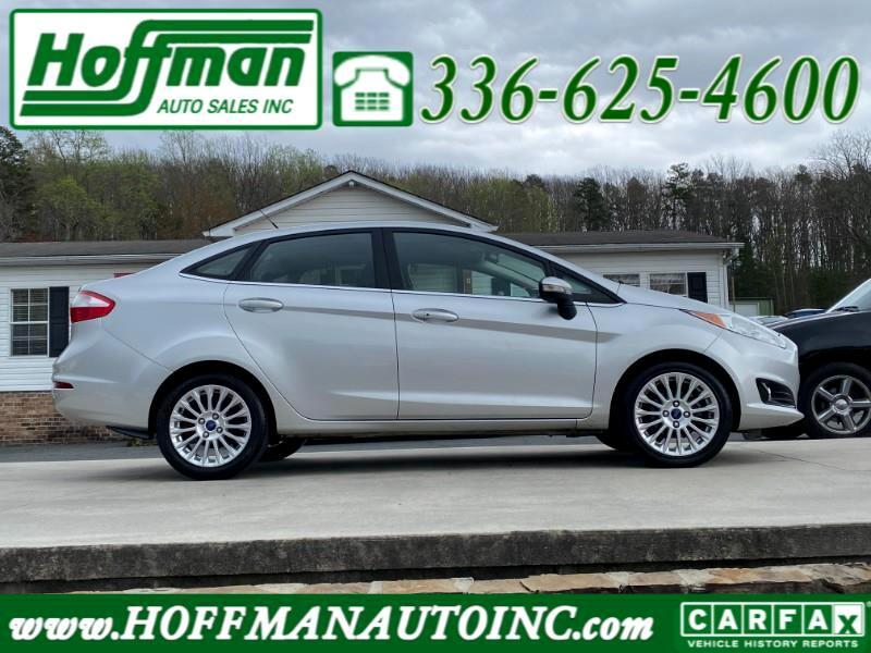 Ford Fiesta Titanium Sedan 2015