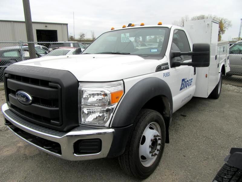 """2015 Ford F550 2WD Reg Cab 141"""" WB 60"""" CA XL"""
