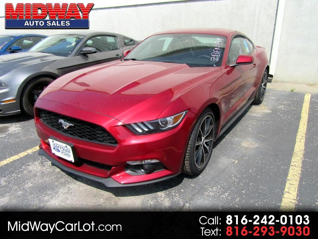 used 2017 ford mustang ecoboost fastback for sale in kansas city mo 64120 midway auto. Black Bedroom Furniture Sets. Home Design Ideas