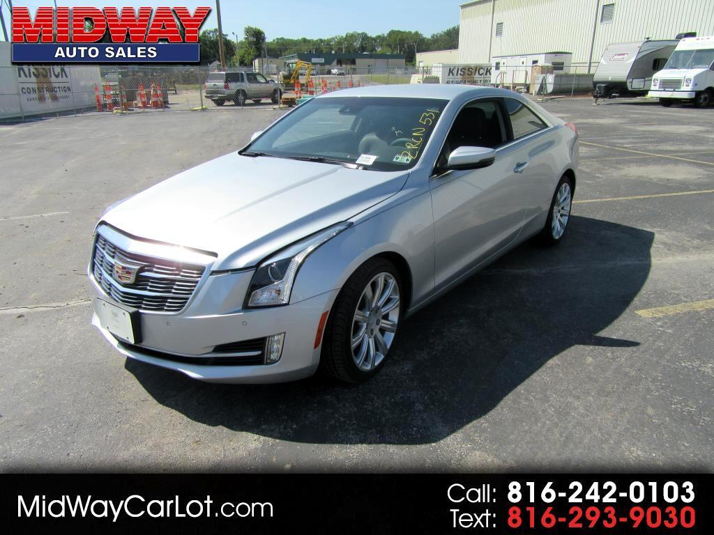 2015 Cadillac ATS 2dr Cpe 3.6L Luxury RWD