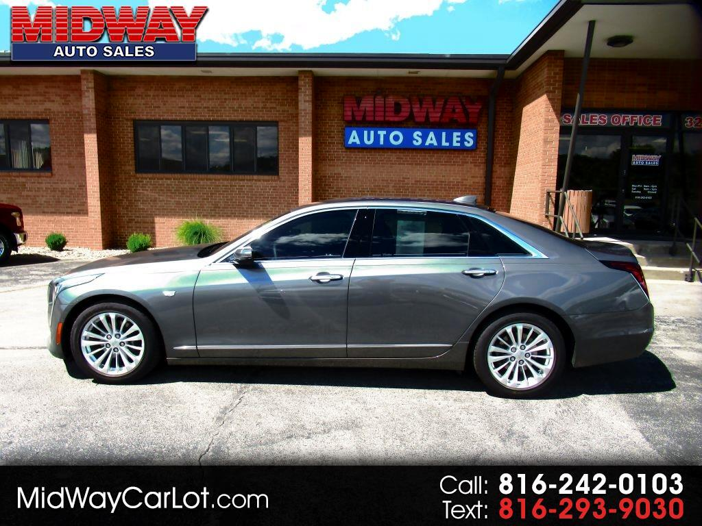 2017 Cadillac CT6 4dr Sdn 2.0L Turbo Luxury RWD