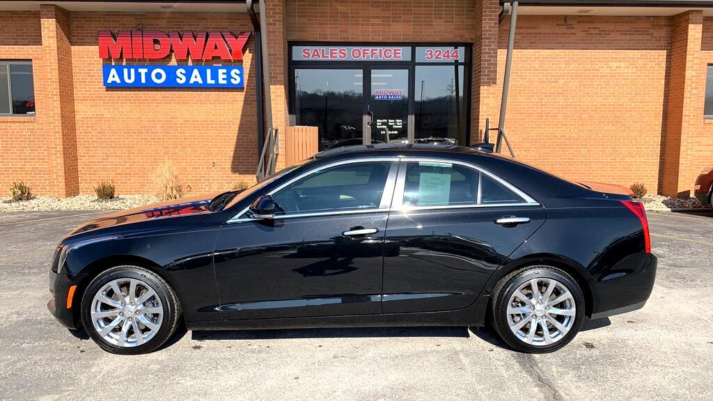 2017 Cadillac ATS 4dr Sdn 2.0L Luxury RWD