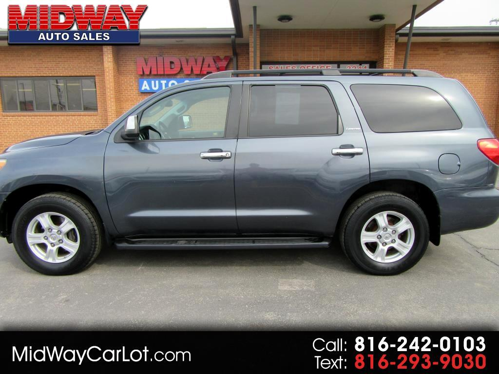 2008 Toyota Sequoia RWD 4dr LV8 6-Spd AT Ltd (Natl)