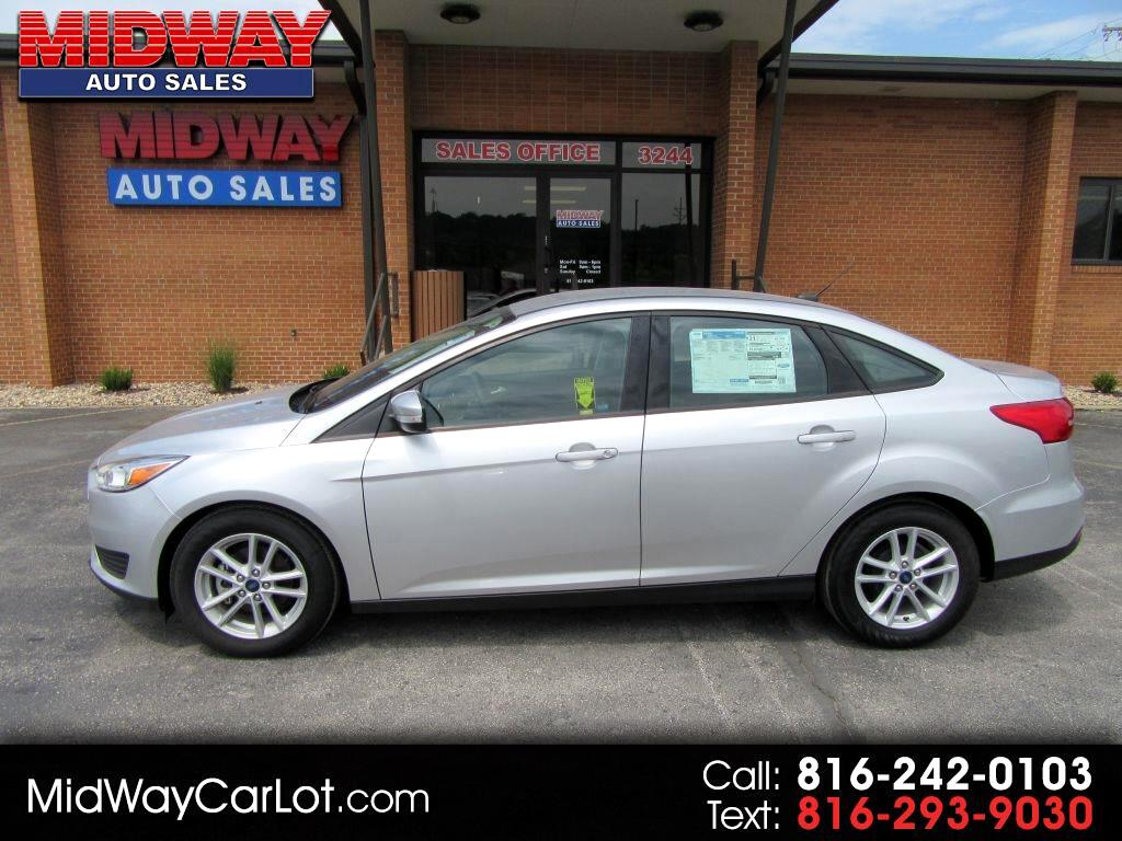 used 2017 ford focus se sedan for sale in kansas city mo 64120 midway auto. Black Bedroom Furniture Sets. Home Design Ideas