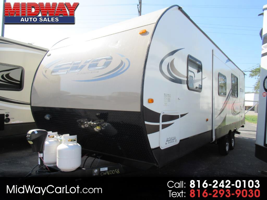 2016 Forest River EVO (Lightweight Travel Trailer) 2550