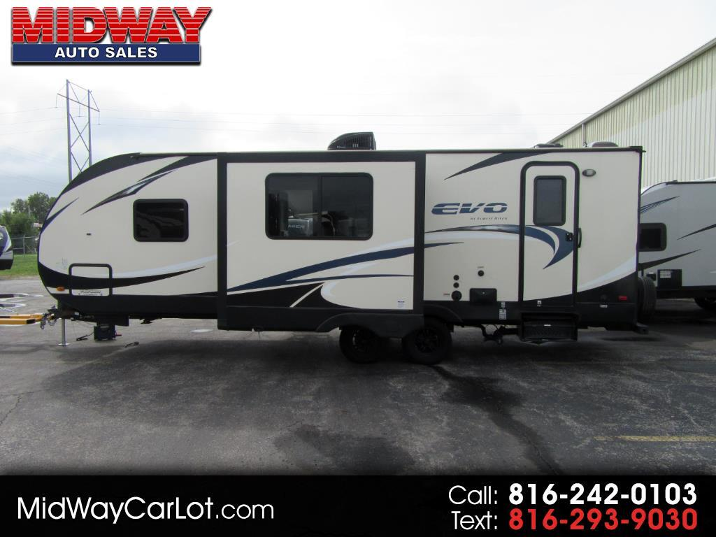 2016 Forest River EVO (Lightweight Travel Trailer) ATS 240BHS