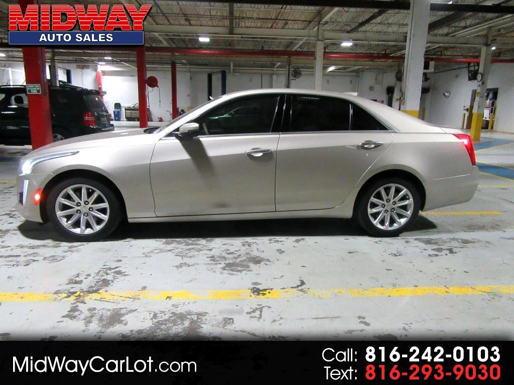 Cadillac CTS 4dr Sdn 2.0L Turbo Luxury RWD 2015