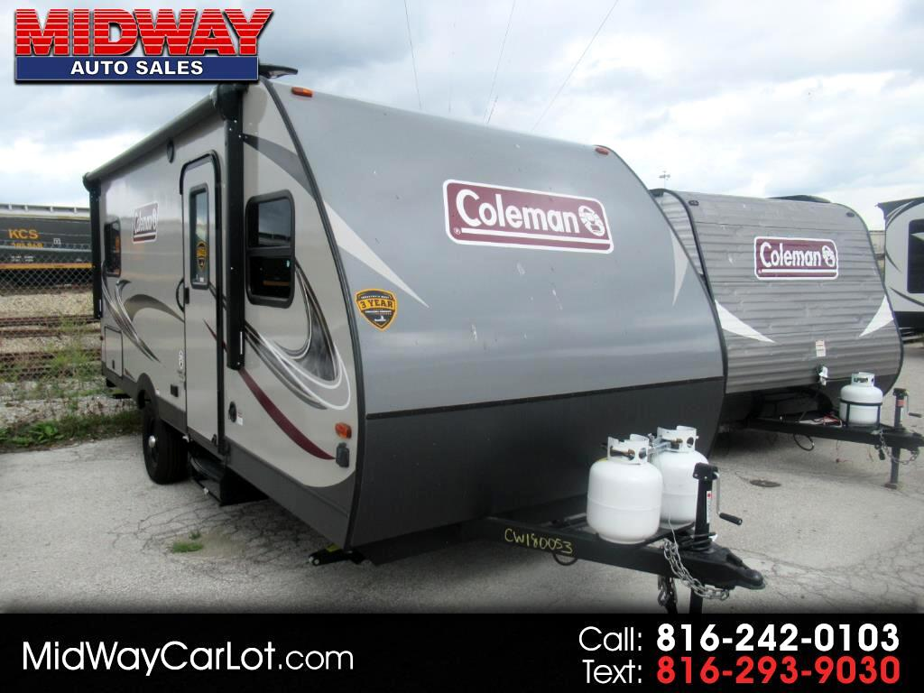 2018 Coleman Travel Trailer LIGHT LX 1755FD