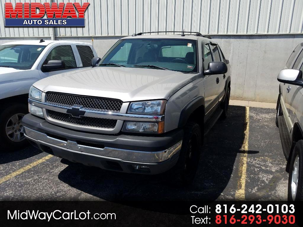 "2004 Chevrolet Avalanche 1500 5dr Crew Cab 130"" WB 4WD"