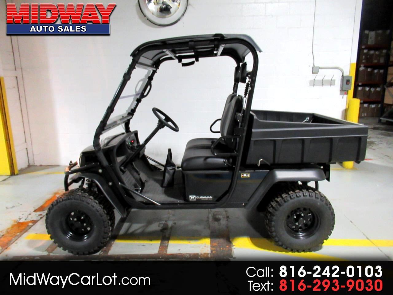 Cushman Utility Cart  2017