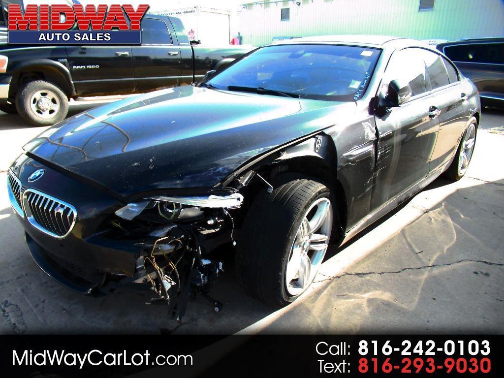 2016 BMW 6 Series 4dr Sdn 640i RWD Gran Coupe