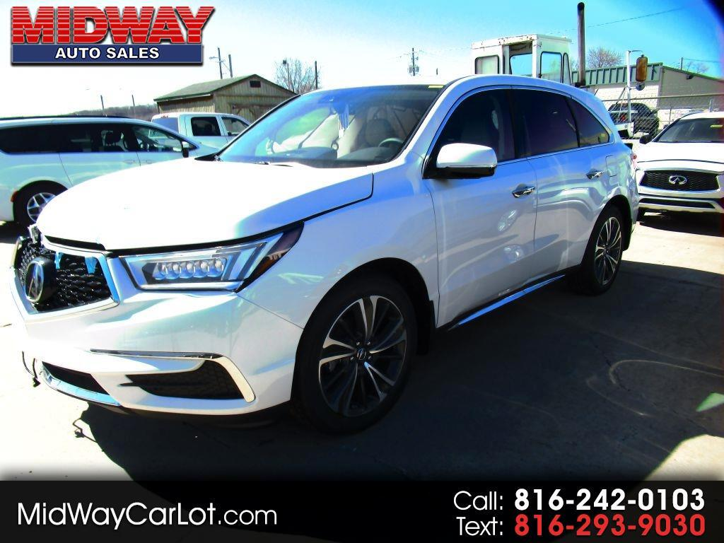 Acura MDX SH-AWD 9-Spd AT w/Tech Package 2020