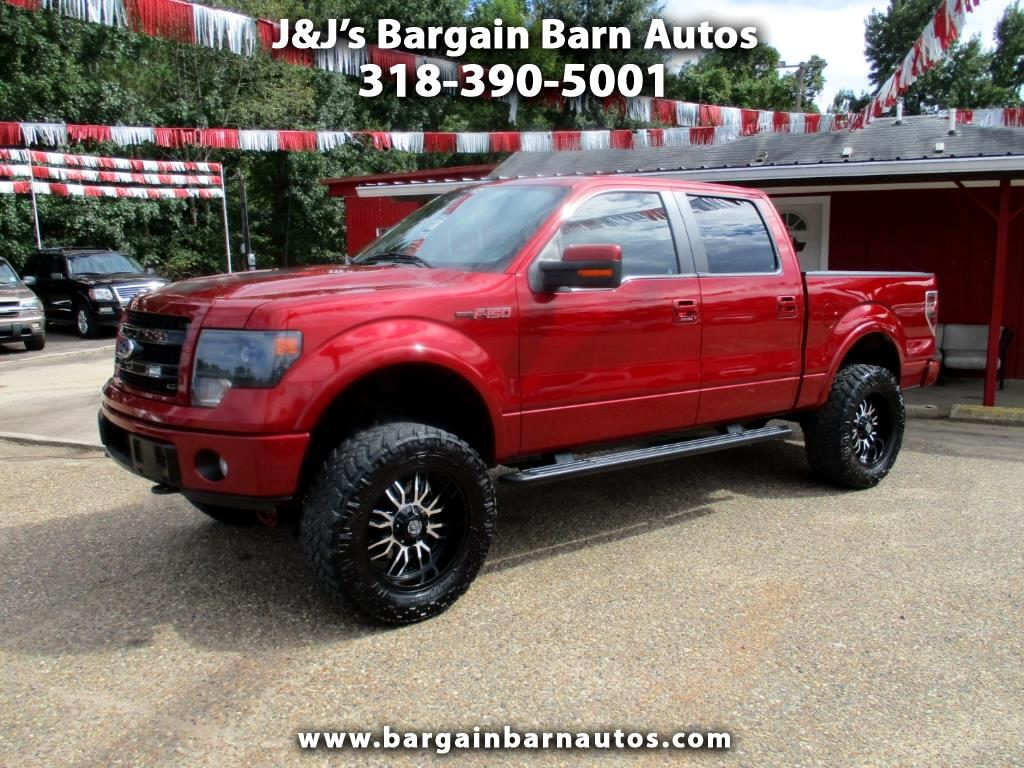 "2013 Ford F-150 4WD SuperCab 133"" FX4"