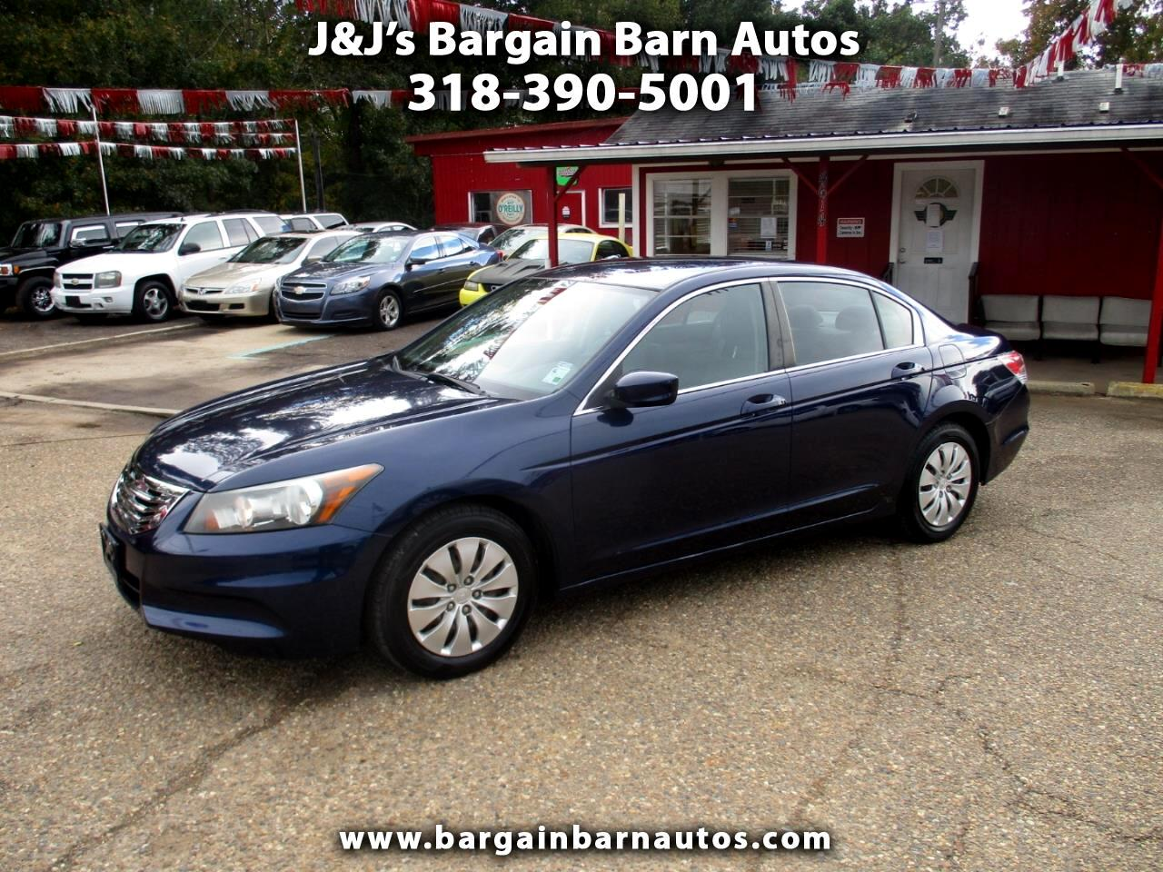 2011 Honda Accord LX sedan AT