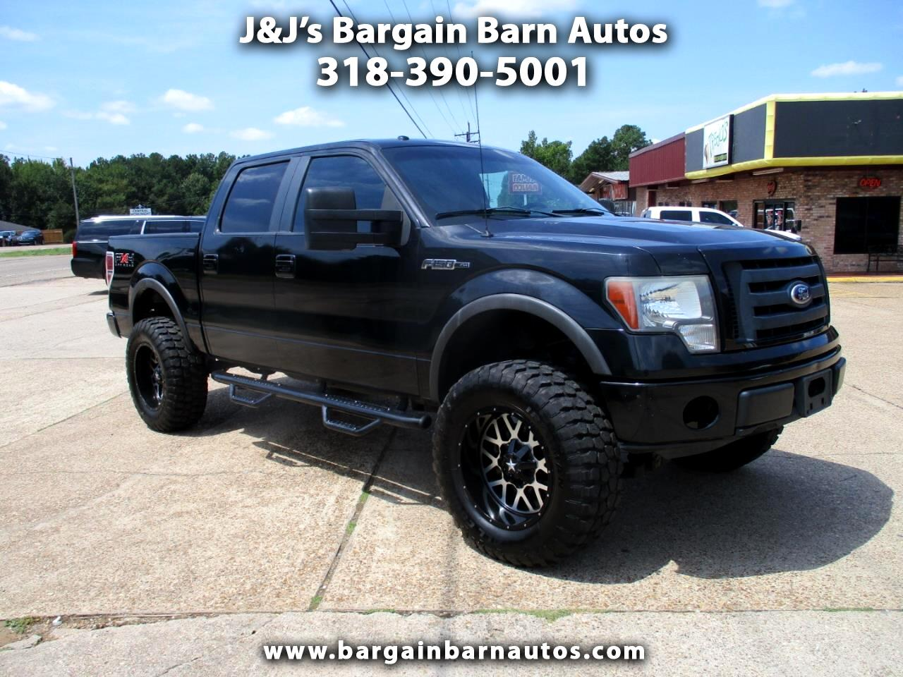 "2010 Ford F-150 4WD SuperCab 133"" FX4"