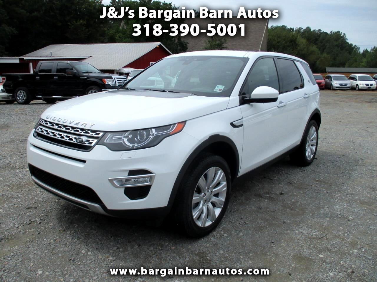 2016 Land Rover Discovery Sport HSE LUX