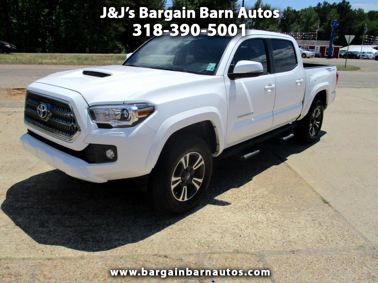 Toyota Tacoma TRD Sport Double Cab 5' Bed V6 4x2 AT (Natl) 2017