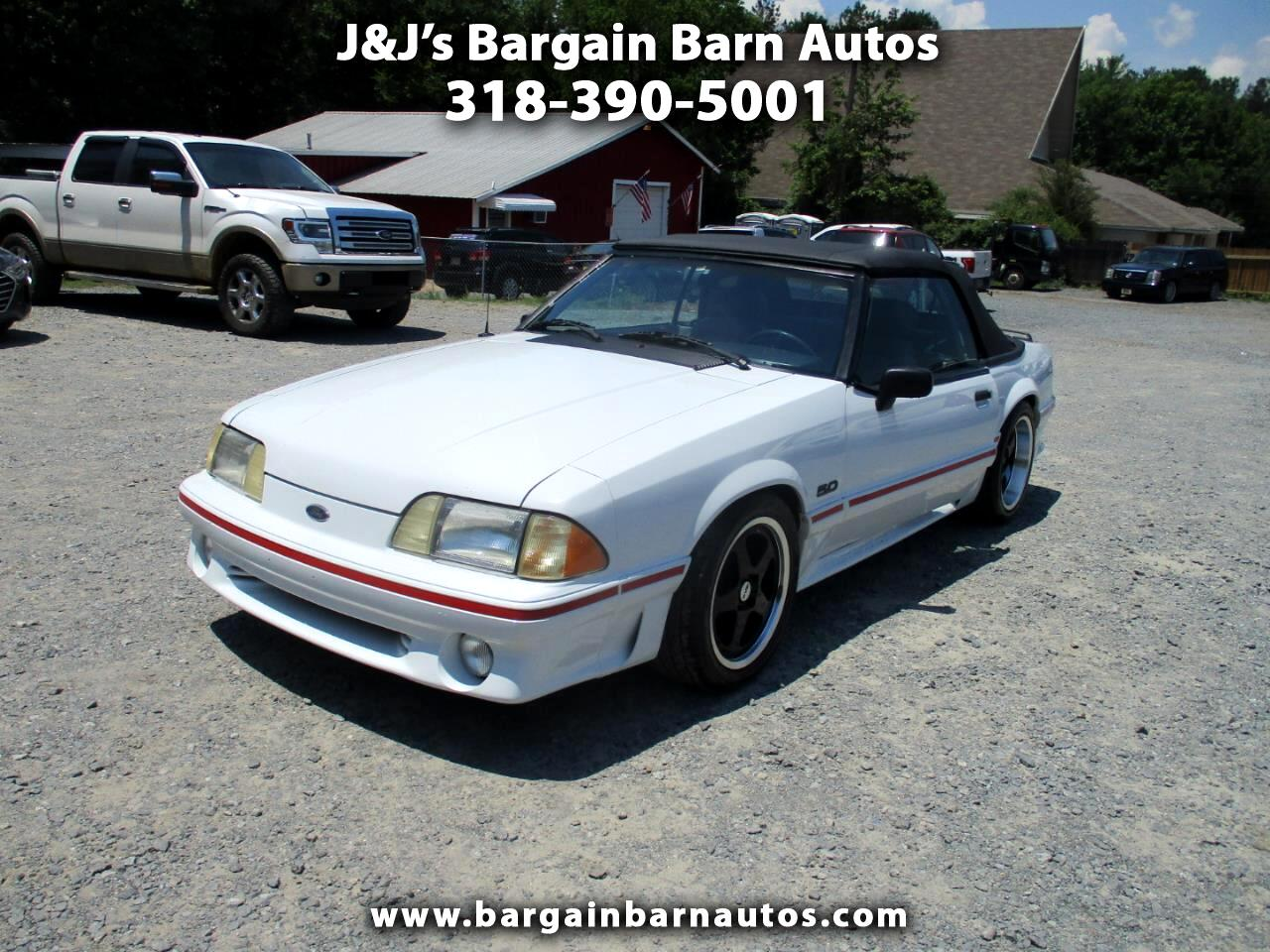 Ford Mustang GT convertible 1989