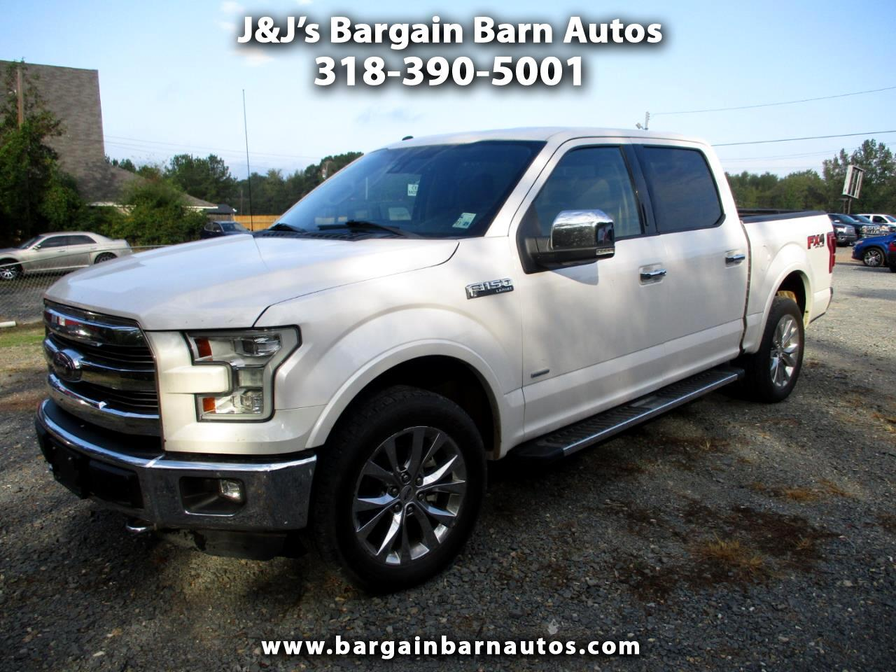 "Ford F-150 4WD SuperCrew 157"" Lariat 2016"