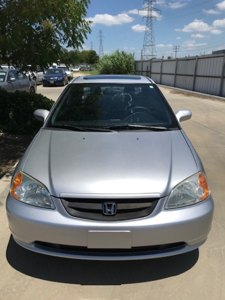 2003 Honda Civic EX Coupe 4-spd AT with Front Side Airbags