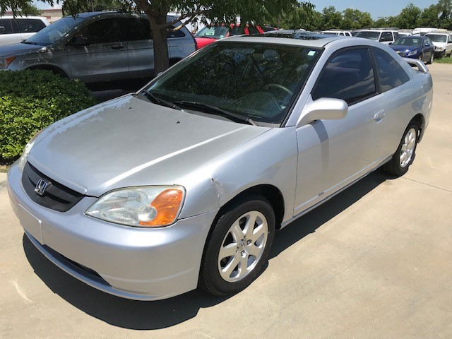 Honda Civic EX Coupe 4-spd AT with Front Side Airbags 2003