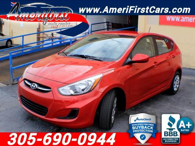 2016 Hyundai Accent Sport 5-Door 6A