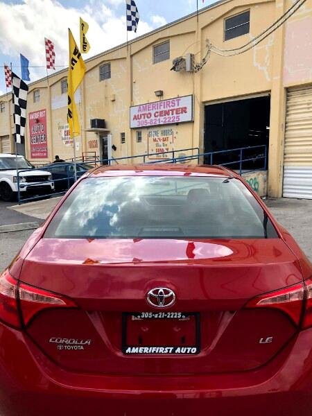 2018 Toyota Corolla XLE CVT (Natl)