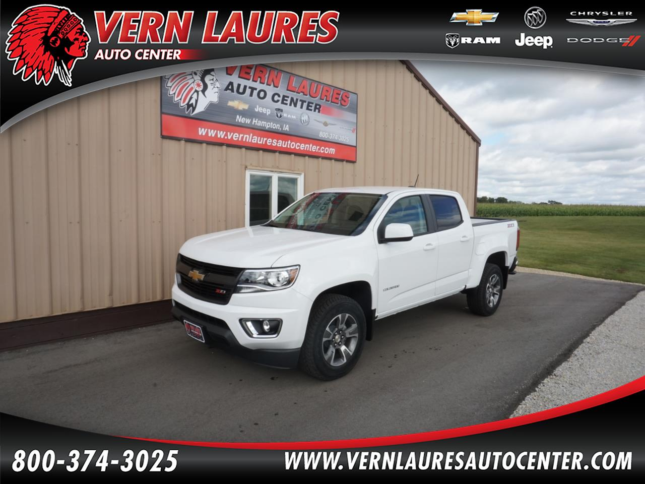 2020 Chevrolet Colorado Z71 Crew Cab 4WD Long Box