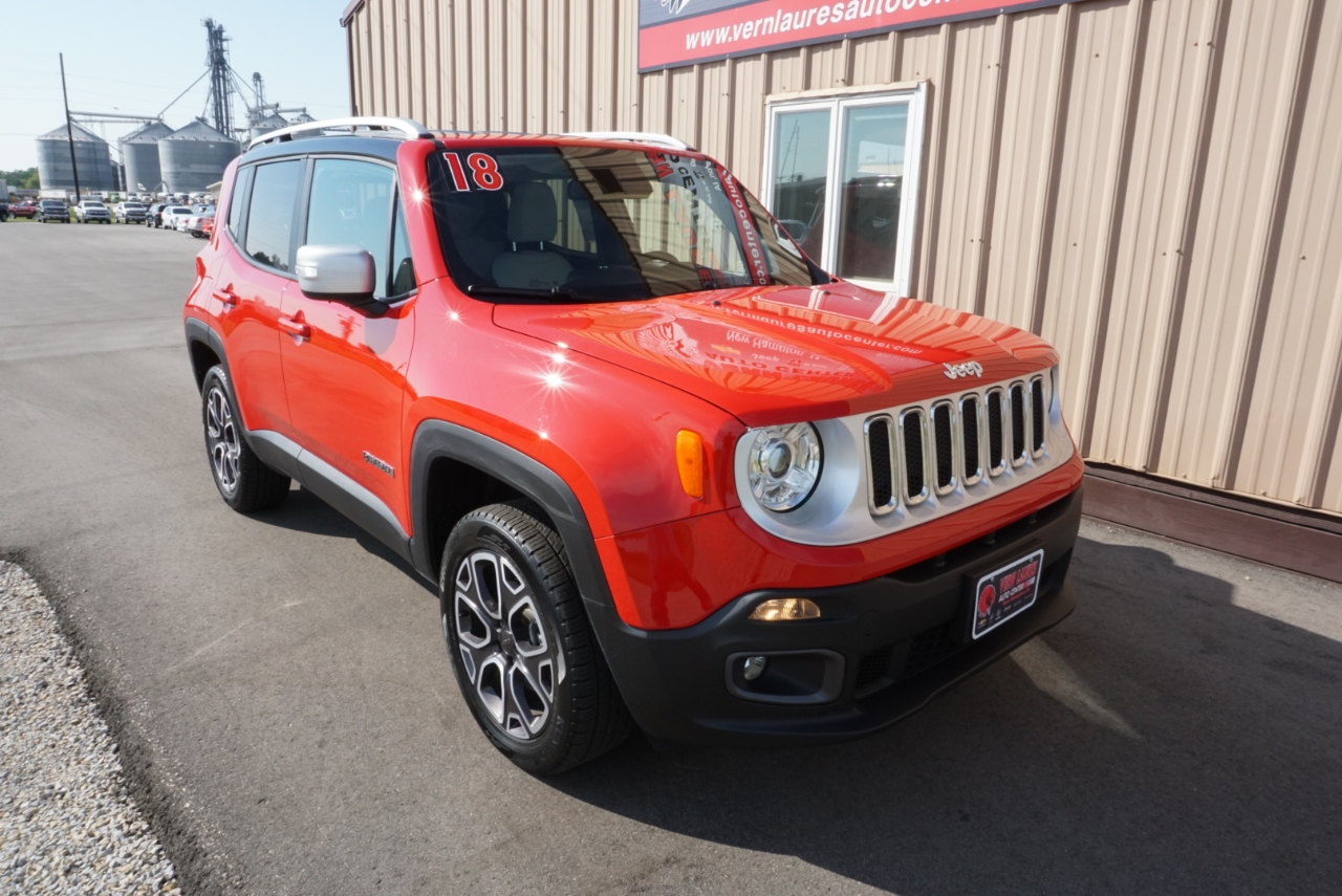 Jeep Renegade Limited 4WD 2018