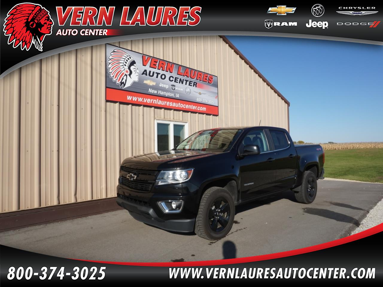 Chevrolet Colorado 1LT Crew Cab 4WD 2016