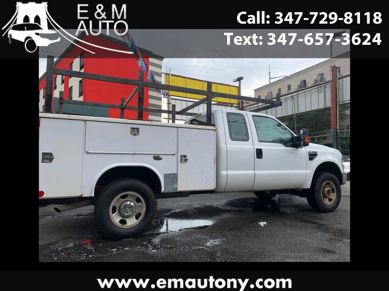"Ford Super Duty F-350 SRW 4WD SuperCab 158"" XLT 2009"