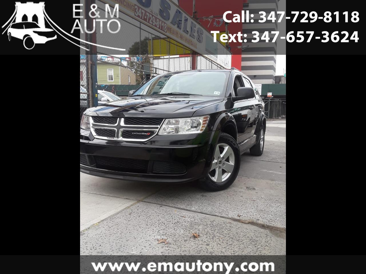 Dodge Journey AWD 4dr SE 2014