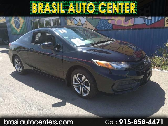 2014 Honda Civic LX Coupe 5-Speed AT