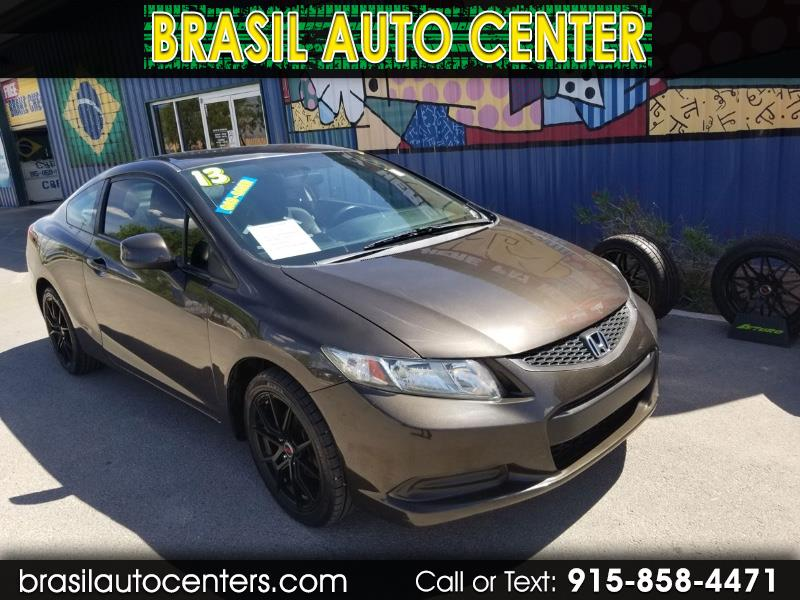 Honda Civic LX Coupe 5-Speed AT 2013