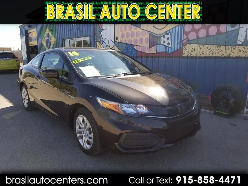Honda Civic LX Coupe CVT 2014