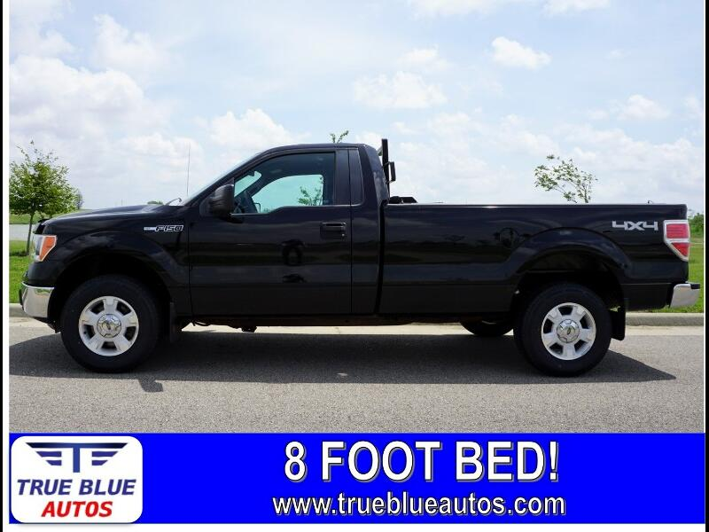 2013 Ford F-150 XLT Reg. Cab Long Bed 4WD