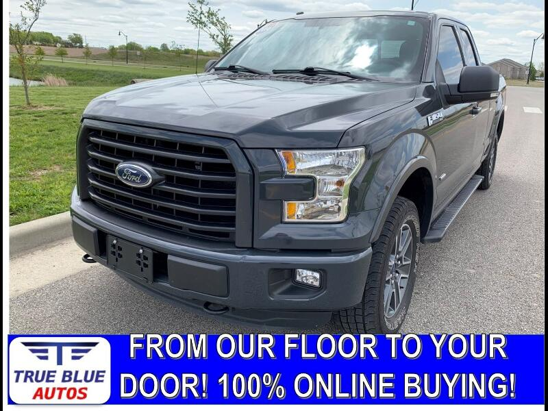 Ford F-150 XLT SuperCab 4WD 2016