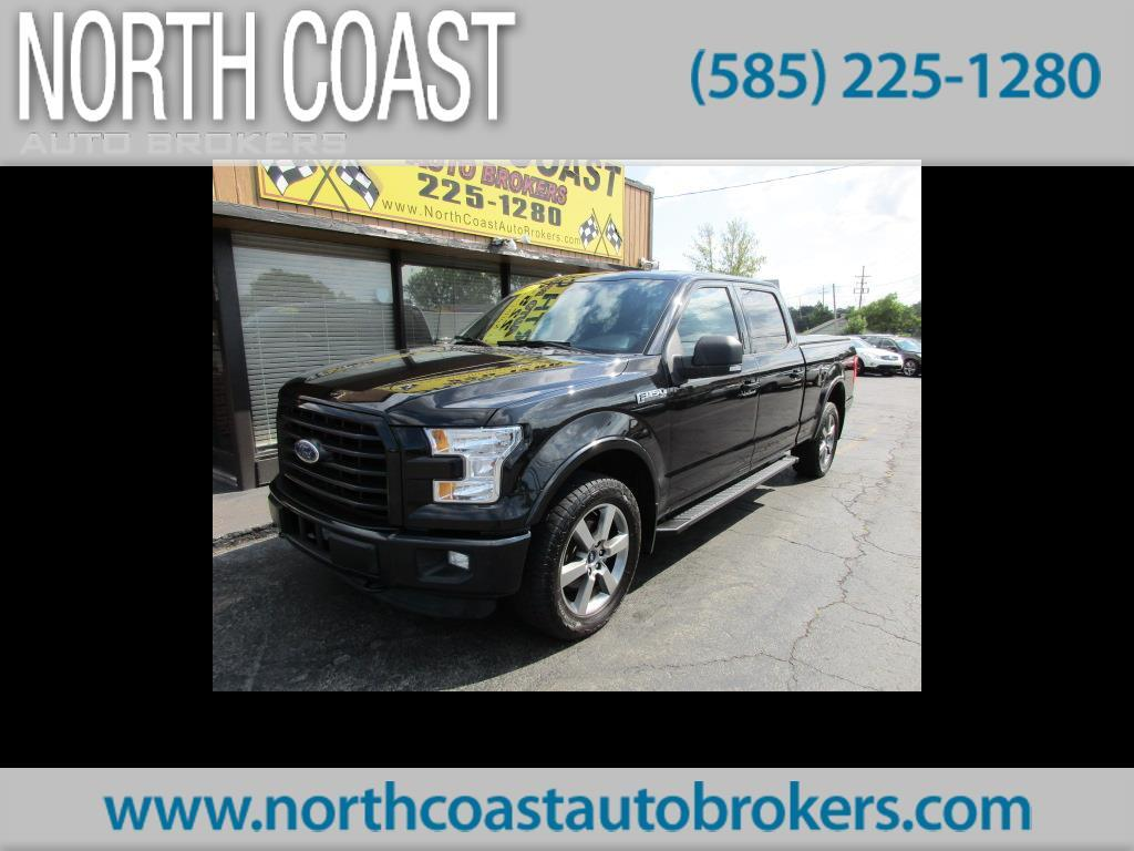 2015 Ford F-150 FX4 SUPERCREW 6.5-FT BED 4WD